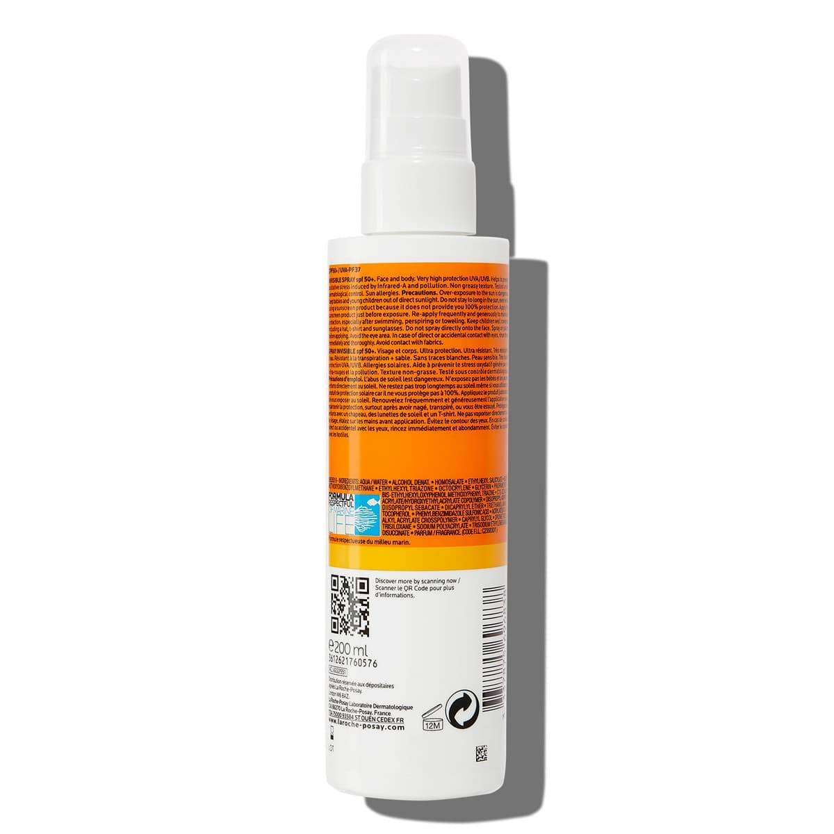Retro confezione Anthelios Invisible Spray SPF50+