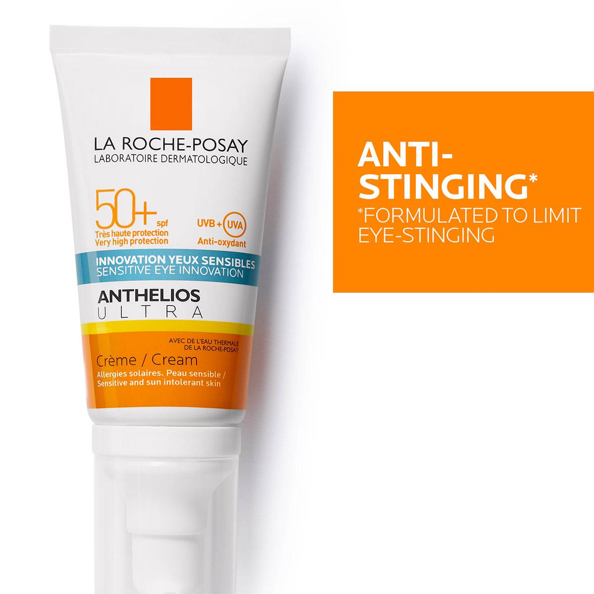 La Roche Posay ProductPage Sun Anthelios Ultra Face Cream Spf50 50ml 3