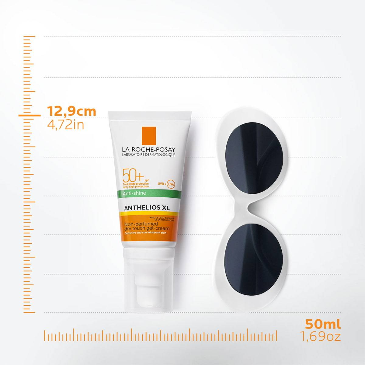 La Roche Posay ProductPage Sun Anthelios XL Dry Touch Gel Cream Spf50