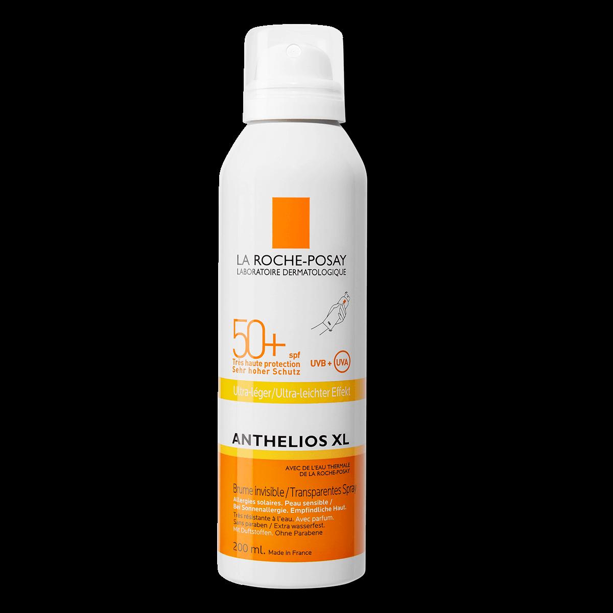 La Roche Posay ProductPage Sun Anthelios XL Invisible Mist Ultra Spf50
