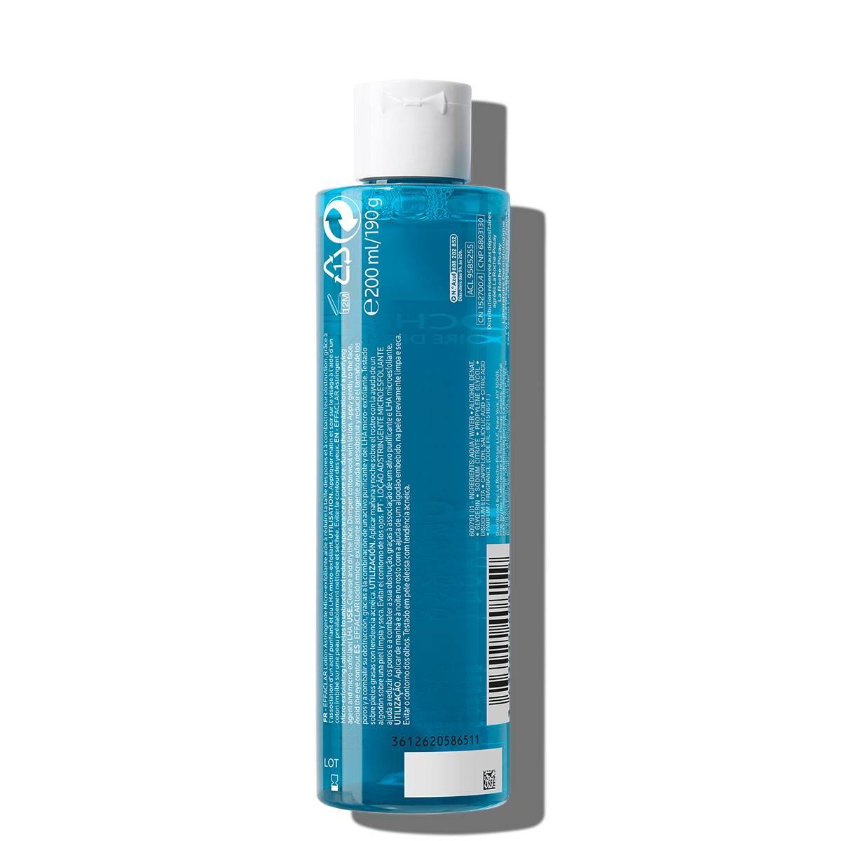 La Roche Posay Face Care Effaclar Micro Exfoliating Astringent Toner 2