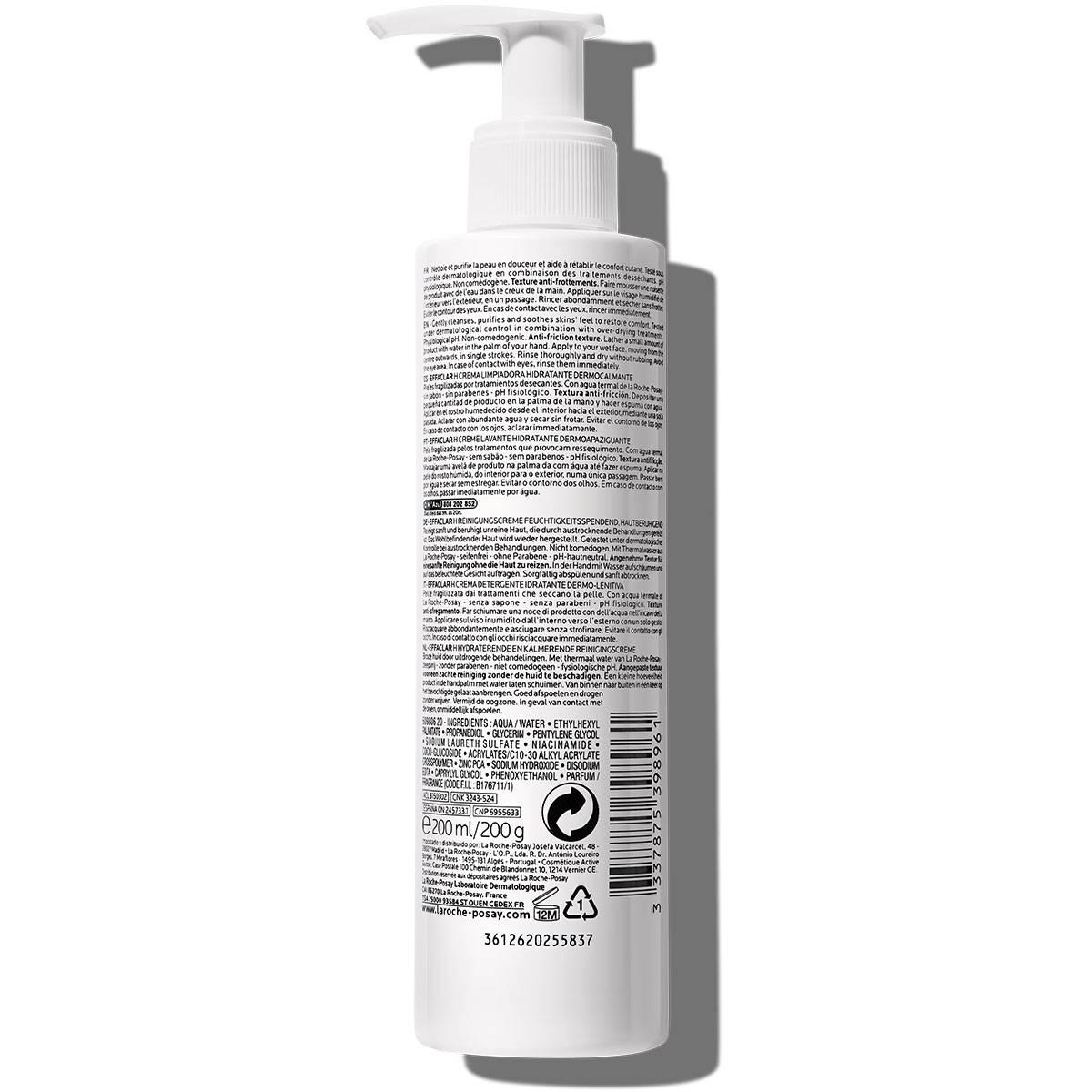 La Roche Posay Face Cleanser Effaclar H Cleansing Cream 200ml 33378753