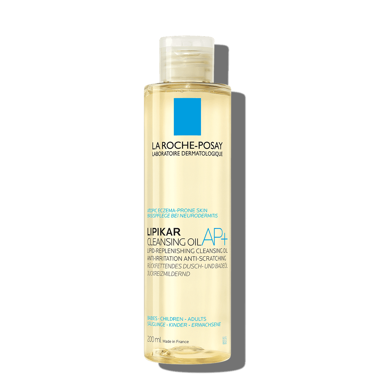 La Roche Posay ProductPage Eczema Lipikar Cleansing Oil AP 200ml 33378