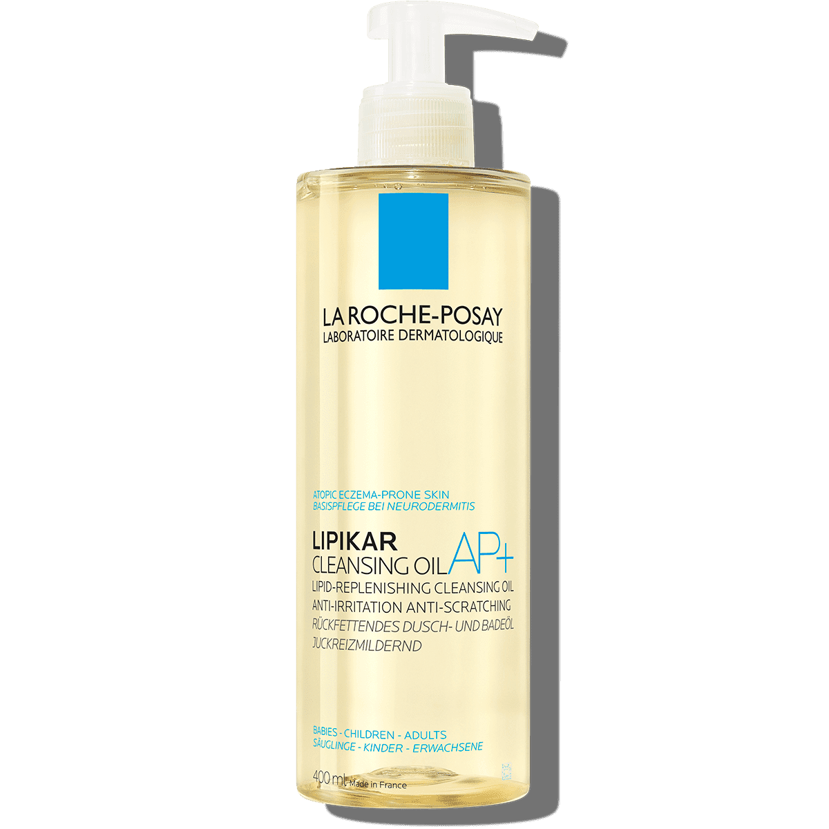 Larocheposay ProductPage Eczema Lipikar Cleansing Oil AP 400ml 3337875
